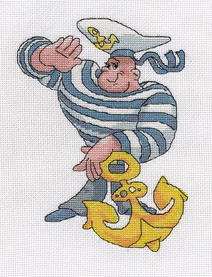 Схемы вышивки для моряков