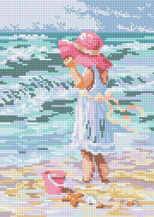 Девочка на пляже 71024,12